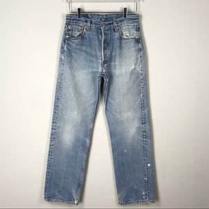 Vintage Levi's 501 High Rise Button Fly Mom Jeans